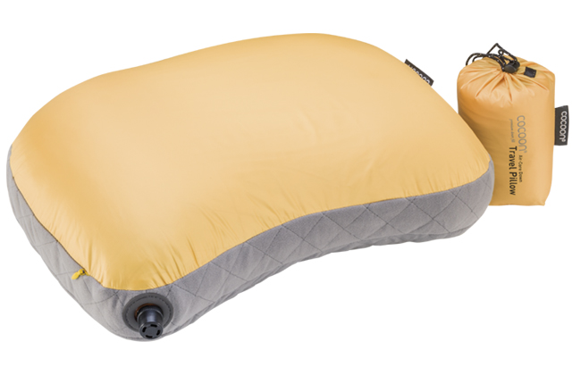 Air-Core Down Travel Pillow