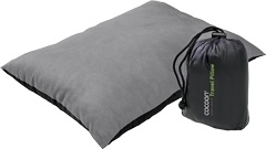 Travel Pillow with synthetic filling and nylon/microfiber shell