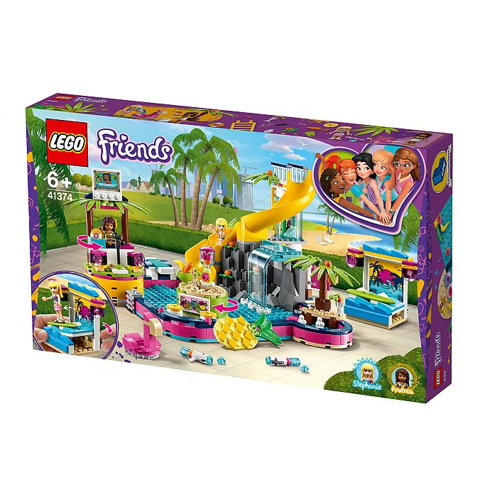 LEGO®, 41374, Andreas Pool-Party, LEGO® Friends