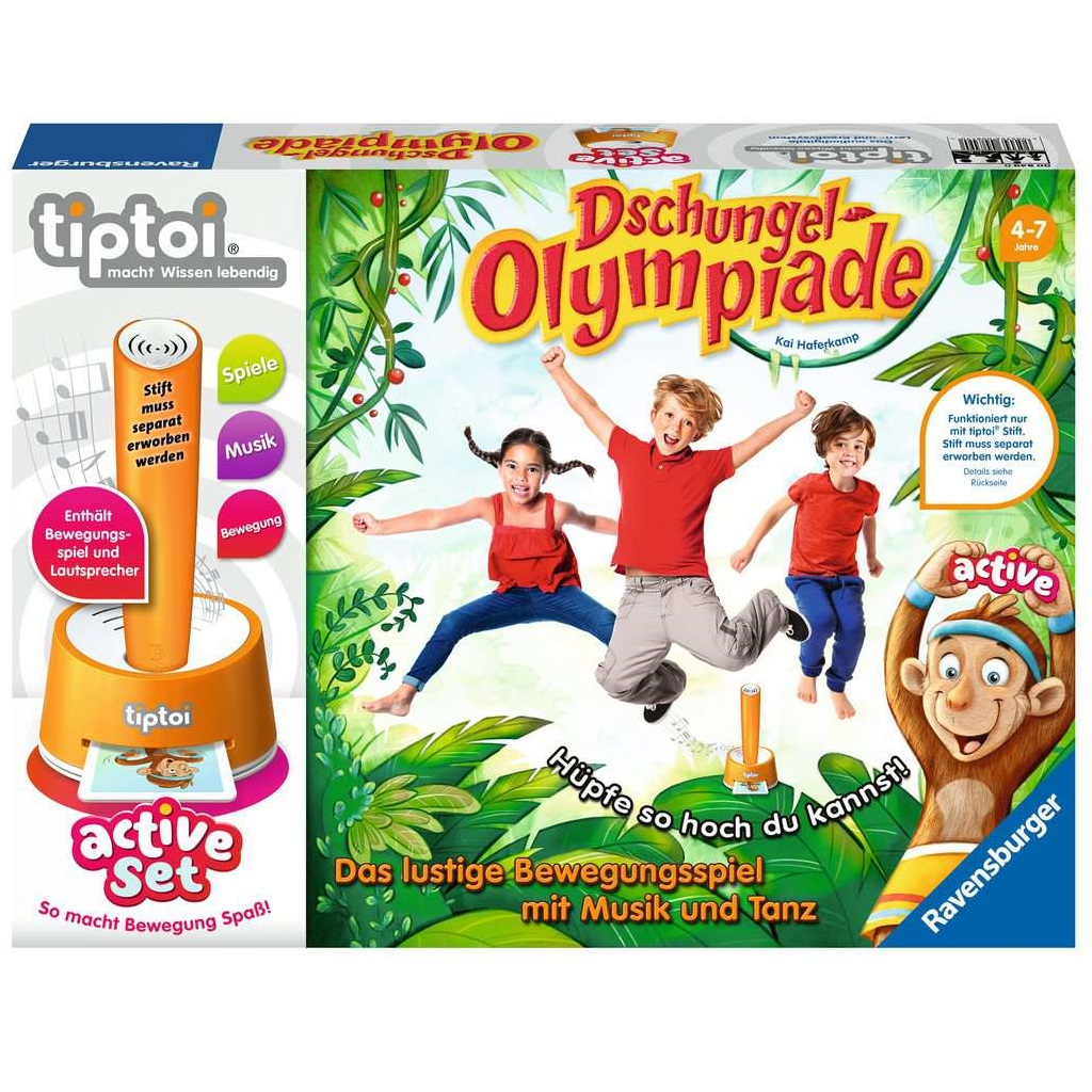 TipToi active Set Dschungel-Olympiade